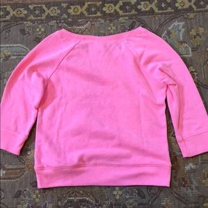 Justice Shirts & Tops - Justice Pink Sequin 3/4 sleeved sweatshirt